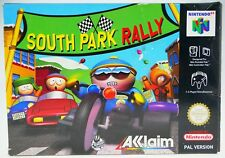 South Park Rally - komplett in OVP Nintendo 64 N64 boxed CIB + Acryl Box