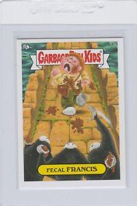 Garbage Pail Kids Fecal Francis 51b GPK 2014 Series 1 trading card sticker Topps