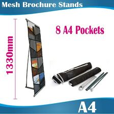 Economical Brochure Stands Brochure Holders 8 Pockets Flyers Catagolue Holder