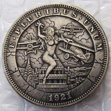 US 1921 Morgan Dollar With The Woman At War Coins