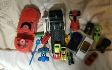 Large Lot of Action Figures Hot Wheels and Such for Play and ??? Used AS-IS AF-5