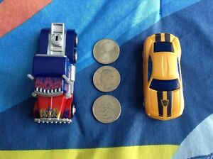 Transformers RPM Bumblebee and Optimus Prime