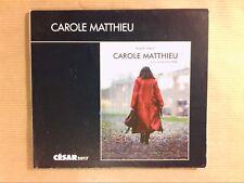 DVD / CAROLE MATTHIEU / ISABELLE ADJANI / EDITION SPECIALE / TRES BON ETAT