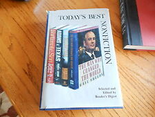 TODAYS BEST NONFICTION -THE READERS DIGEST - FIRST EDITION - VOLUME 15 - GREAT!