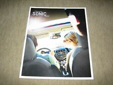 2012 Chevrolet Sonic USA prospectus brochure, 28 pages