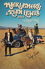 GFA Thrift Shop Producer * RYAN LEWIS * Signed 12x18 Photo AD1 EXACT PROOF COA