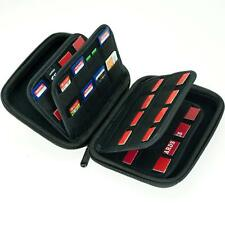 63 holder Storage Case for Nintendo Switch Card,SD card,PS Vita &4 Micro SD card