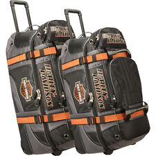 Harley Davidson by Athalon Harley Davidson 2Pc Set Rolling Duffel NEW