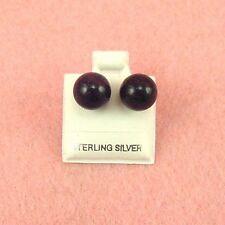 Sterling Silver 10mm Ball Earrings