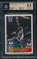 1997 Kenner Starting Lineup rc #2 Ray Allen topps rookie BGS 9.5