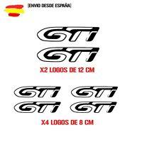 PEGATINA PEUGEOT  208 GTI 308 GTI  kit de 6 STICKER VINIL DECAL