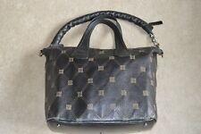 Givenchy Nightingale Monogram Bracelet en cuir noir épaule Sac à Main Pour Femme Sac