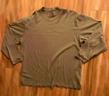 Oliver Harris Long Sleeve Tan Shirt Mens XXL Cotton