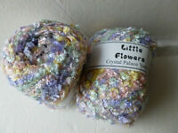 Crystal Palace Yarns Little Flowers #9553 Dreamy Metallic Mini Flag Yarn 50g