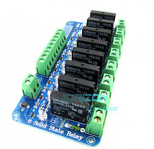 250V 2A 8 Channel OMRON SSR G3MB-202P Solid State Relay Module For Arduino Good