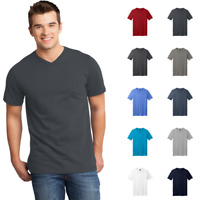 District Young Mens T-Shirt Very Important Tee Everyday Casual V-Neck DT6500