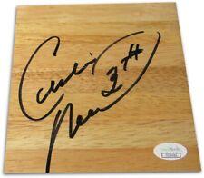 Cedric Maxwell Signed Autographed 6X6 Floor Piece Boston Celtics JSA COA