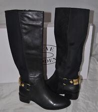 NIB Steve Madden REGGIEE Black Tall Gusseted Boots - Size 7