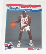 1991/92 Michael Jordan Hoops McDonald's Food Issue 1992 USA Dream Team Card #55