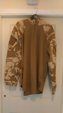 British Military Under Body Armour Combat Shirt - DESERT CAMO  Large.