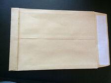 50 enveloppes, pochettes Kraft 3 soufflets 30 mm 120 g 260 x 330