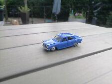 1/43 Vintage Plastic  Norev De Miniatures Peugeot  304 In Blur Good Condition