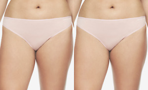 Calvin Klein Plus Form Stretch Thong Panties 2-Pairs Pink Size 3X NEW $35