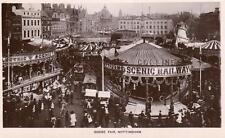 Goose Fair Nottingham Fairground RP old pc used 1913 Peveril