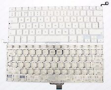 "Apple Macbook Unibody A1342 13"" BIANCO TASTIERA UK Layout 2009/2010 F201"