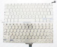 "APPLE MACBOOK UNIBODY A1342 13"" WHITE KEYBOARD UK LAYOUT 2009/2010 F201"