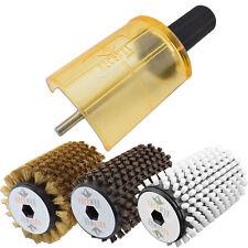 RaceWax Ski Rotobrush Kit SnapOut Quick-Change Axle Plus All 3 Brushes