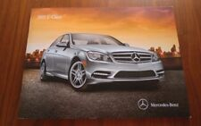 MERCEDES BENZ BROCHURE 2011 C CLASS SEDAN C300 C350 AMG C63 COLLECTIBLE