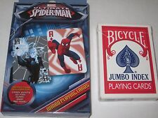 Marvel's Spider Man Jumbo Playing Cards - Play Games WAR, MATCH or Magic Tricks