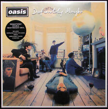 OASIS DEFINITELY MAYBE NEW SEALED 180G 2LP REISSUE & DOWNLOAD CODE IN STOCK