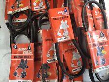 Auto Delta Drive belts joblot resale assorted 23 total