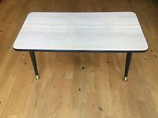 Formica Coffee Table 1960s with Dansette Sputnik Legs