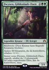 Dwynen, Gilt-Leaf Daen / Dwynen, Güldenlaub-Daen FOIL - Promo - Magic - EX - DE