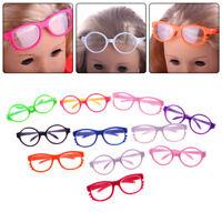 Fashion Handmade Doll Girl Glasses For 18 Inch Doll Clothes Color Rando Toy O1V2