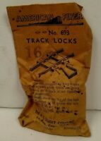 Vintage Gilbert American Flyer  693  track locks in  the original envelope 1