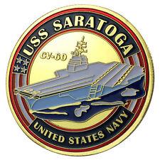U.S. Navy USS Saratoga / CV-60 GP Challenge Coin 1129#