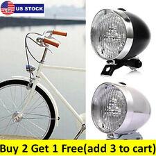 Classic Vintage Led Bike Headlights Bicycle Retro Head Lights Front Fog Lamp