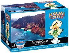 Kauai Coffee Na Pali Coast Single-Serve Cups, 72 Count (6 Boxes)