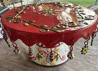 Vintage+Christmas+cake+plate+cake+Plate+Ceramic+Holiday+Party+Seasonal