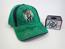 Boston Celtics Kevin Garnett Paul Pierce Ray Allen Rajon Rondo Autographed hats