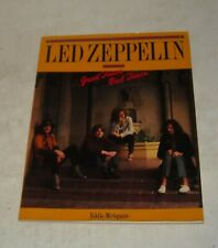 1991 Led Zeppelin - Good Times Bad Times Sc Book by Eddie McSquare w Photos