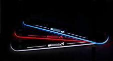 LED Light Door scuff Sill Plates 2pcs Mazda 6 Mazda6 2014-2016