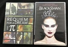 Black Swan / Requiem For A Dream / Pi ; Darren Aronofsky Dvd Lot