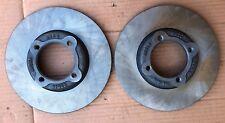Datsun B110 1200 Sedan coupe pick up front brake disk rotors new genuine