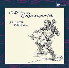 Mstislav Rostropovich - Bach: Cello Suites (NEW 2CD)