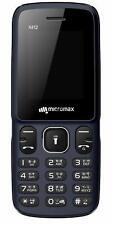 "New Micromax X412 Unlocked Dual SIM-Feature Phone-Keypad-Wireless Fm Radio-1.77"""